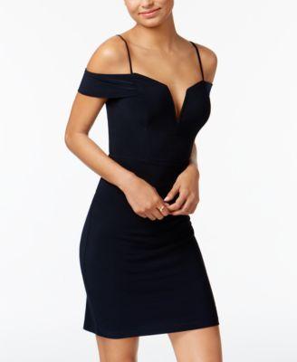 Cold Shoulder Bodycon Dress- Macy's - $69.00