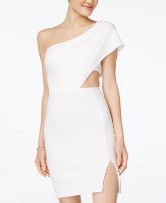 One- Shoulder Bodycon Dress- Macy's - $49.00