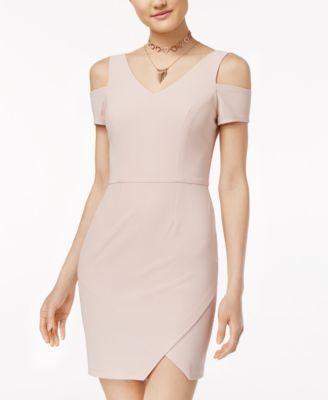 Cold- Shoulder Bodycon Dress- Macy's - $59.00