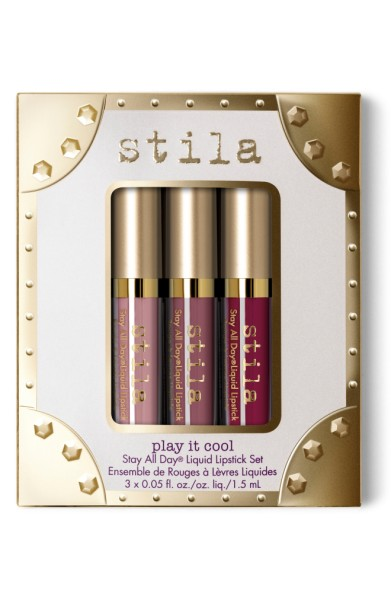 Stila Play it Cool Stay All Day Liquid Lipstick Set - $20.00
