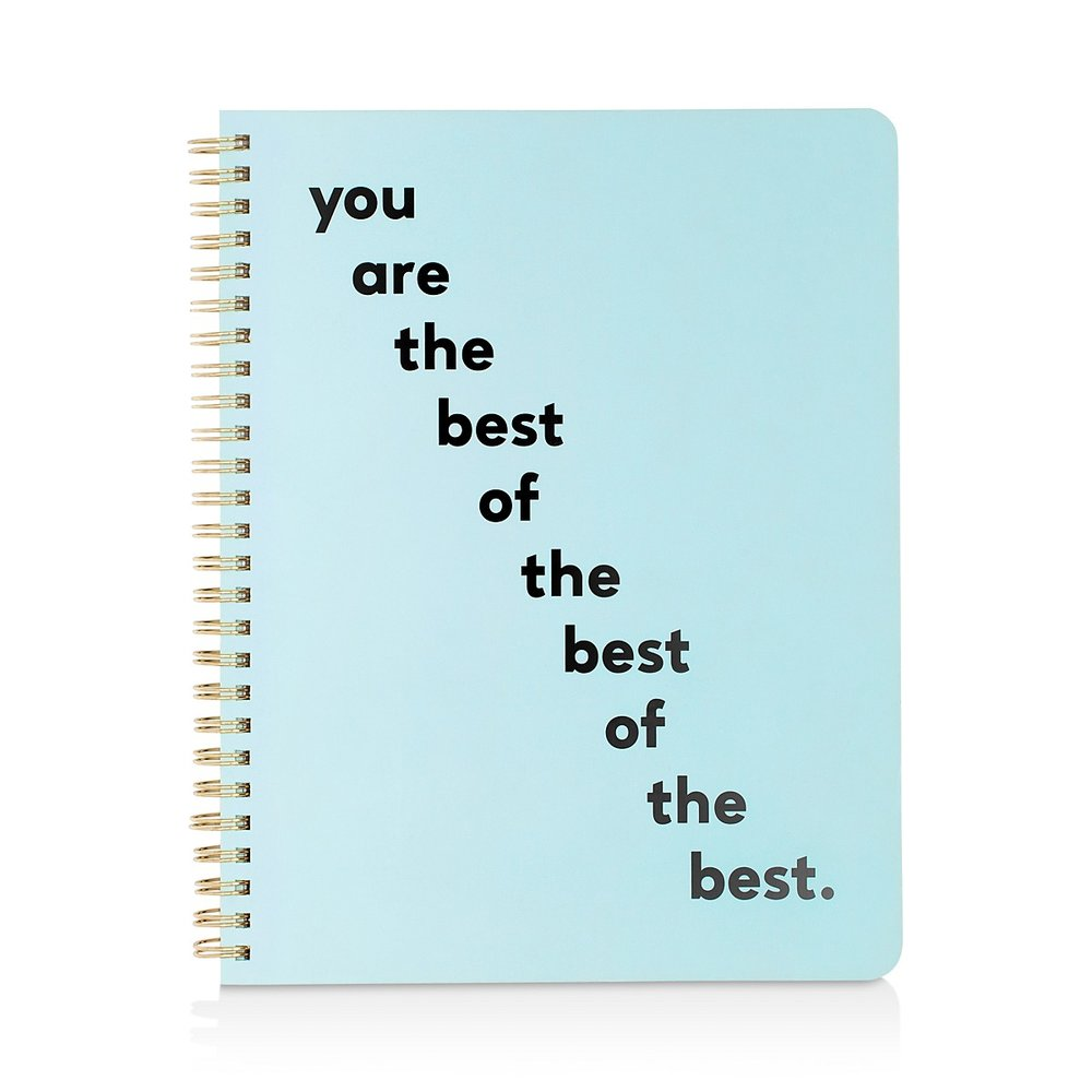 You Are the Best Mini Notebook - $12.00