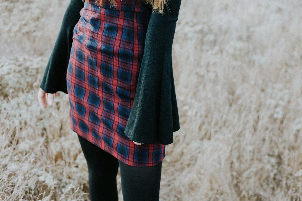 Loving bell sleeves for the Winter!!