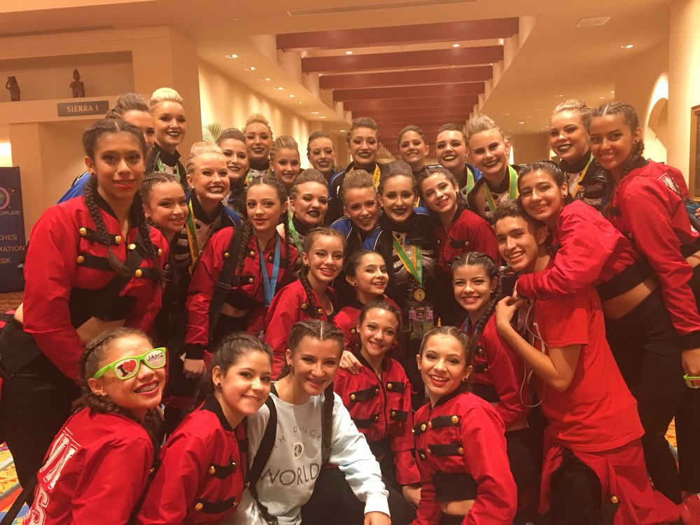We met so many amazing dancers from so many different countries.
