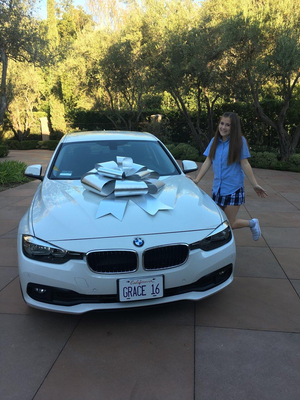 I got a car!!!
