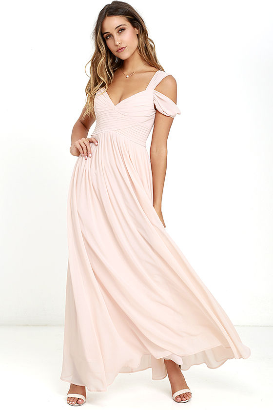 Make Me Move Pink Maxi Dress - $89
