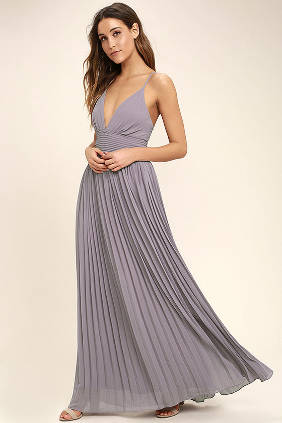Depths of My Love Purple Maxi Dress - $78