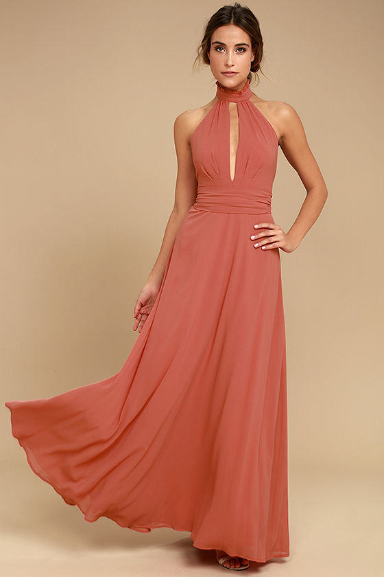 First Comes Love Rusty Road Maxi Dress - $89