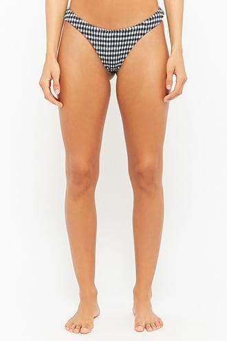 Gingham Bikini Bottoms - $38.00