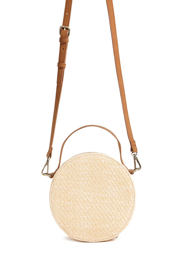 Round Straw Crossbody Bag - $17.90