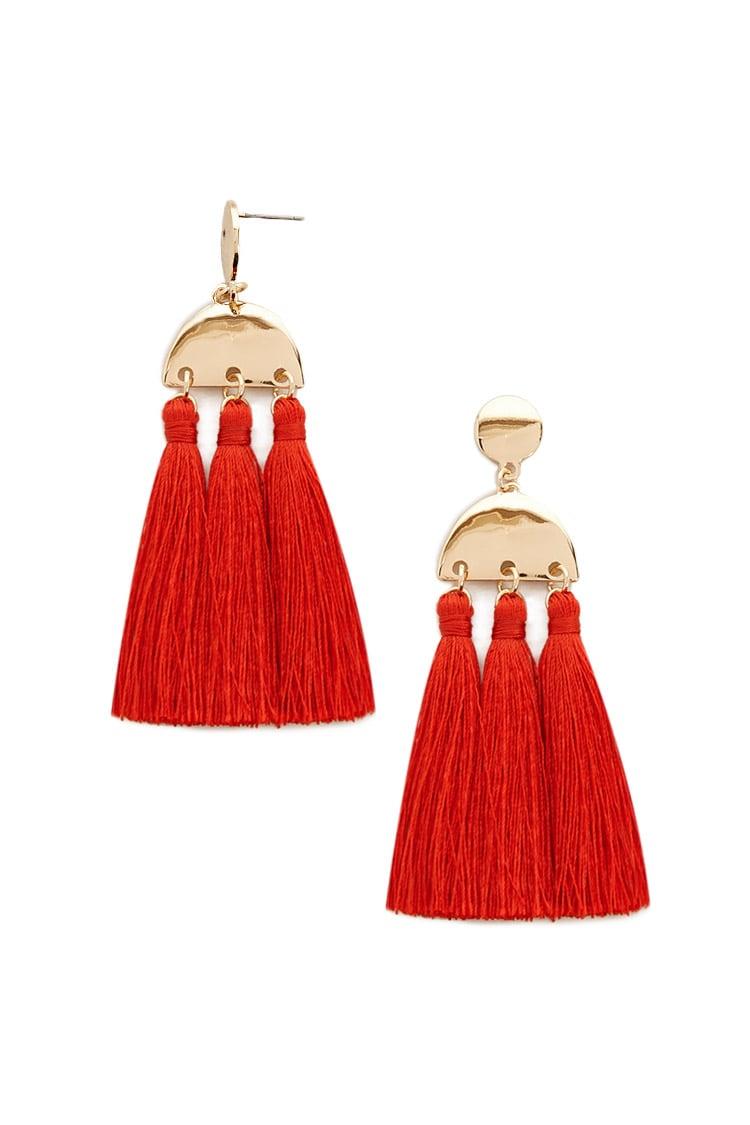 Tassel Drop Earrings - $6.90
