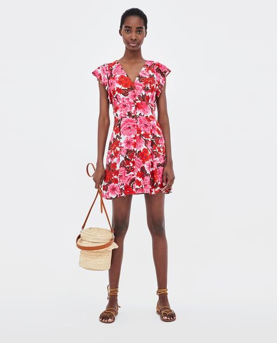 Floral Print Dress - $49.90
