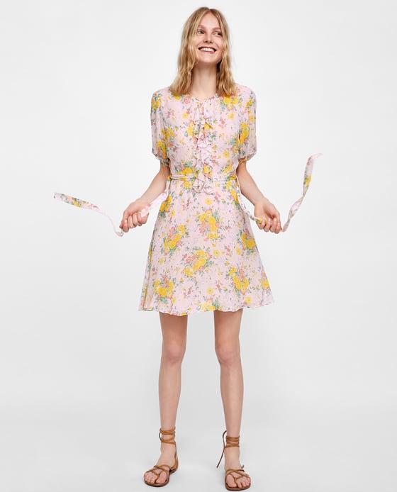 Floral Print Dress - $69.90