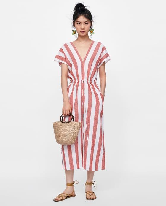 Striped Kaftan - $49.90
