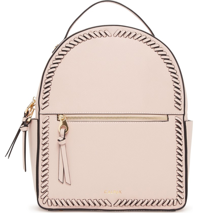CALPAK Kaya Faux Leather Round Backpack - $75.00