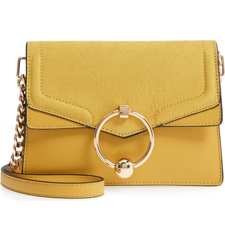 Topshop Seline Faux Leather Crossbody Bag - $48.00