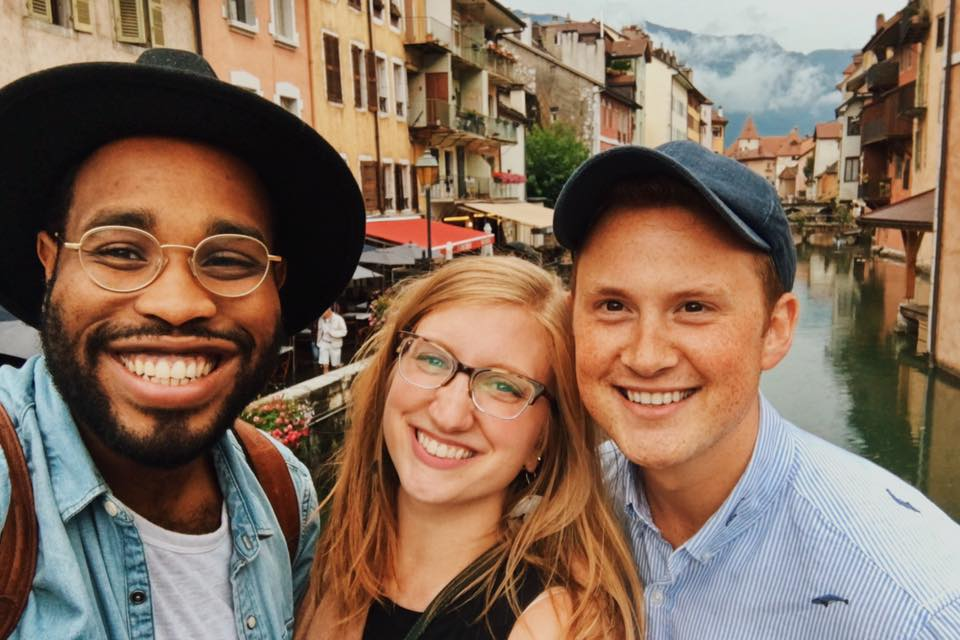 Though all my travel was solo, I did meet up with these great friends (Luke and Amber) while they were in Annecy, and we drank copious amounts of coffee and freaked out about various things. It was a good time.