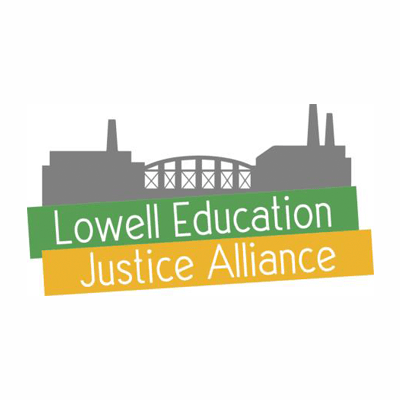 Lowell Education Justice Alliance (LEJA)   LEJA is a grassroots group of parents, educators, students and concerned community members committed to building a stronger, better PUBLIC school system driven by community voices.