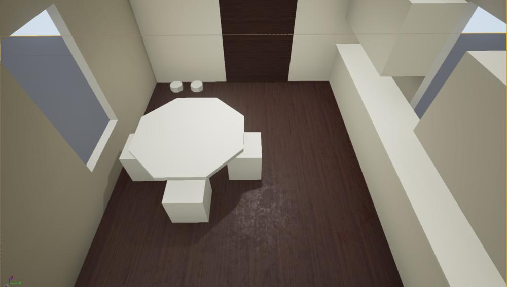 Kitchen Whitebox