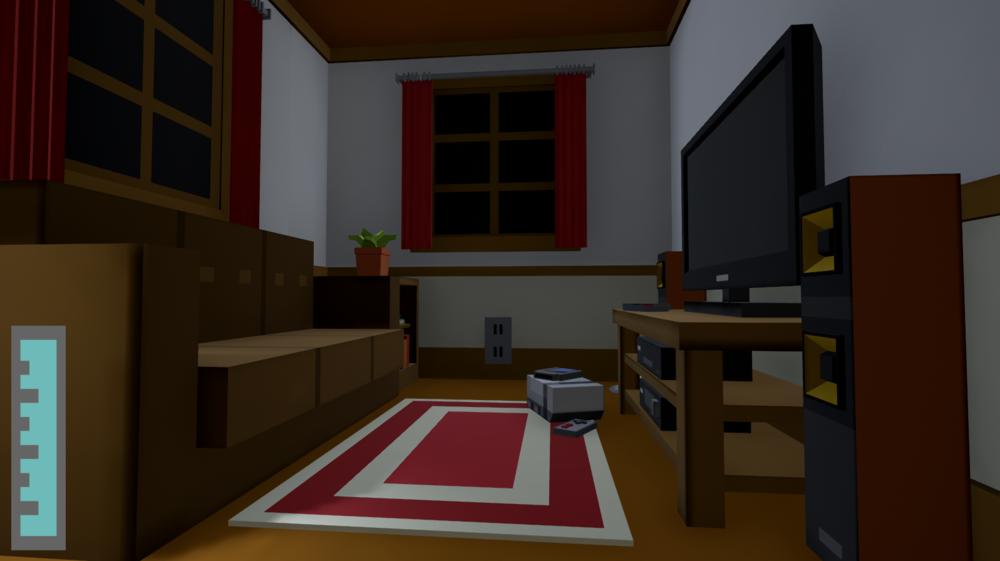 Living Room Final Implementation