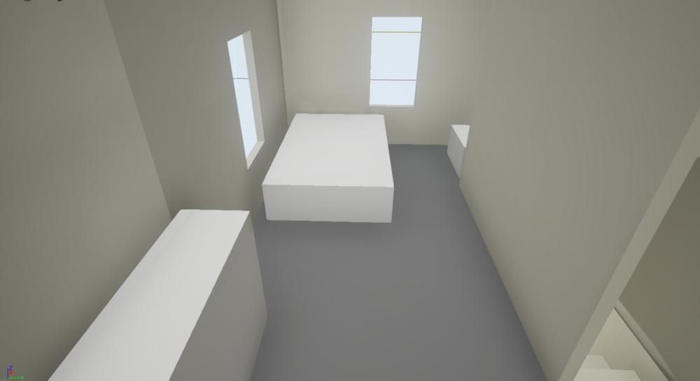 Bedroom Whitebox