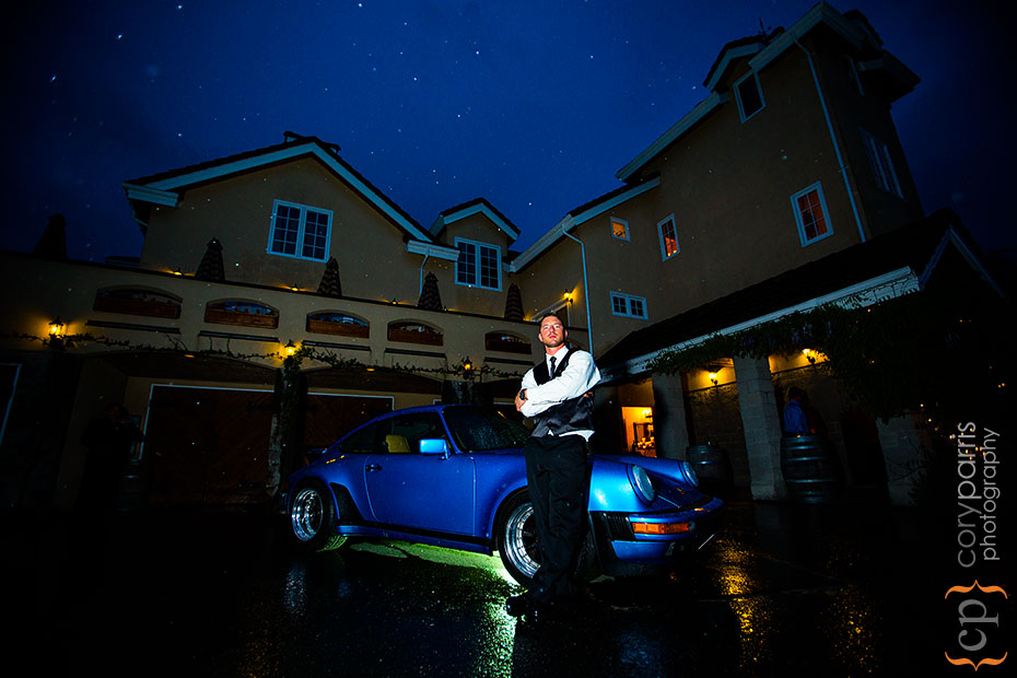porsche-at-delille-winery-wedding