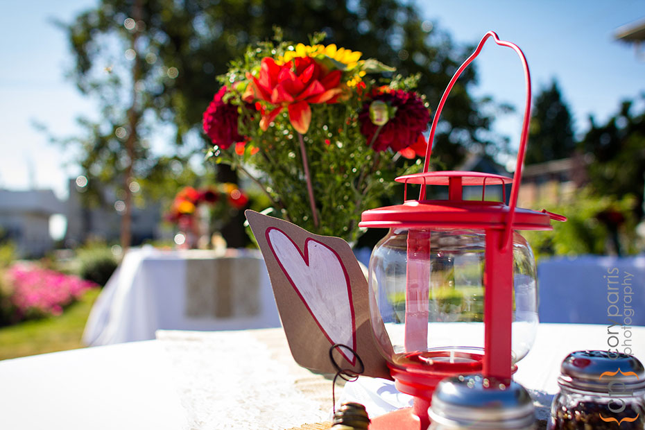 red lantern wedding centerpieces