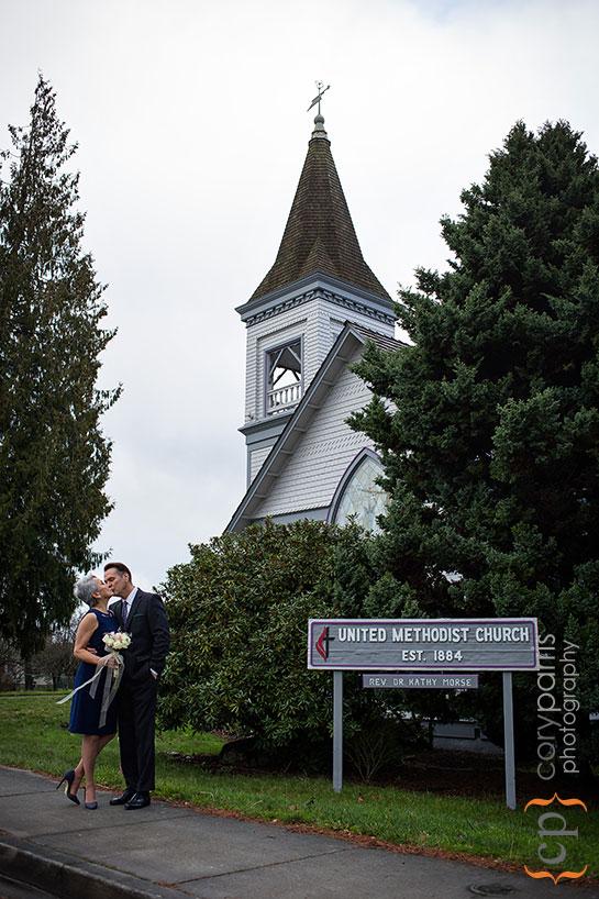 United Methodist Church couple portraits