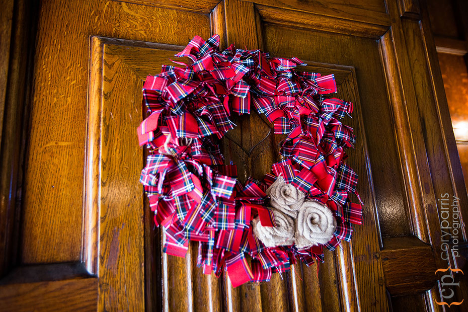 Scottish wreath