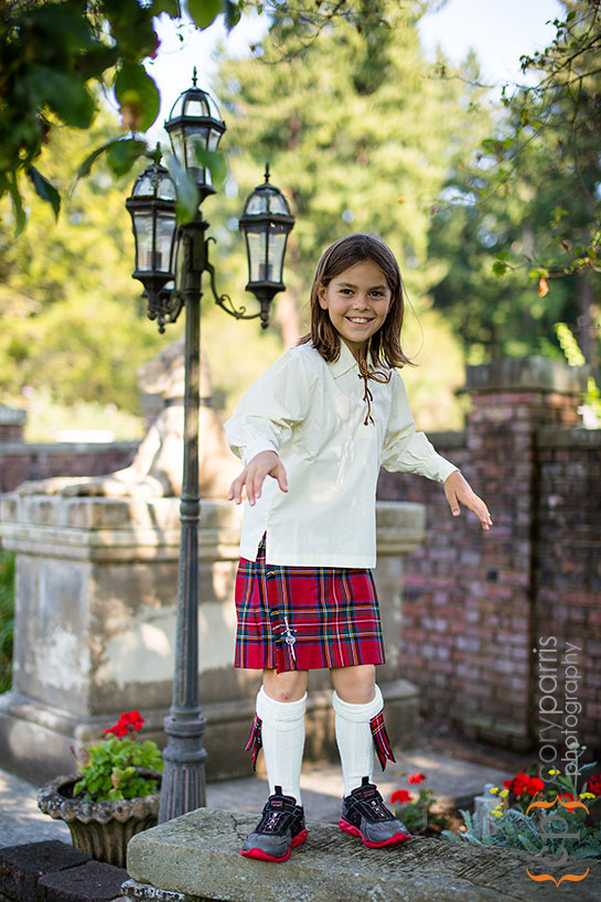 kid in kilt