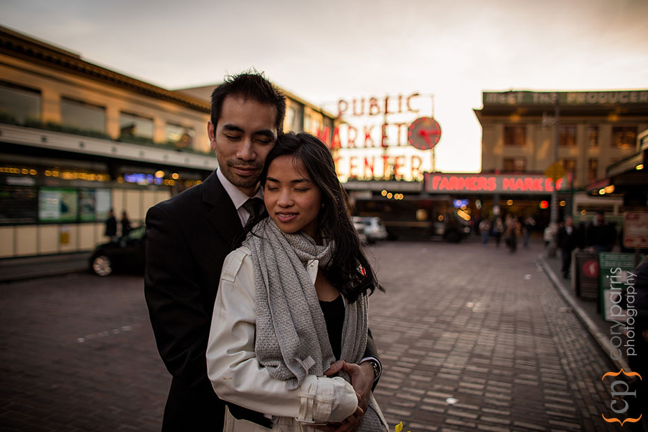 Pike Place Market portrait