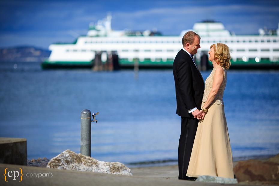 washington state ferry wedding