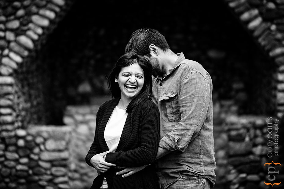 St Edward Park Engagement Portraits