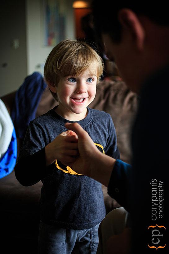 little boy portrait seattle