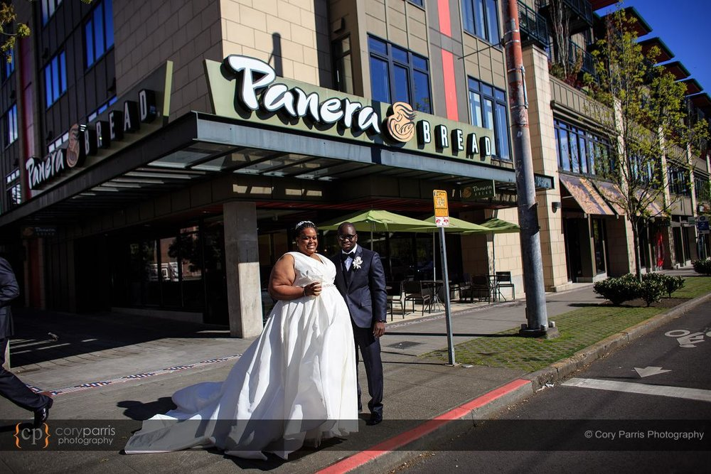 Panera bread wedding