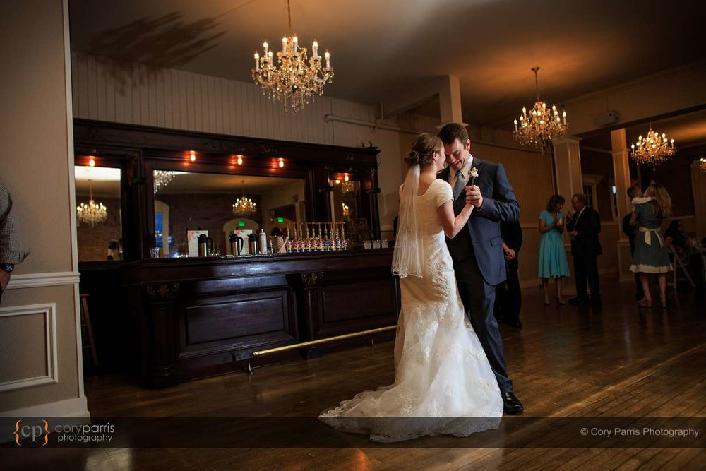 First dance at Hollywood Schoolhouse wedding