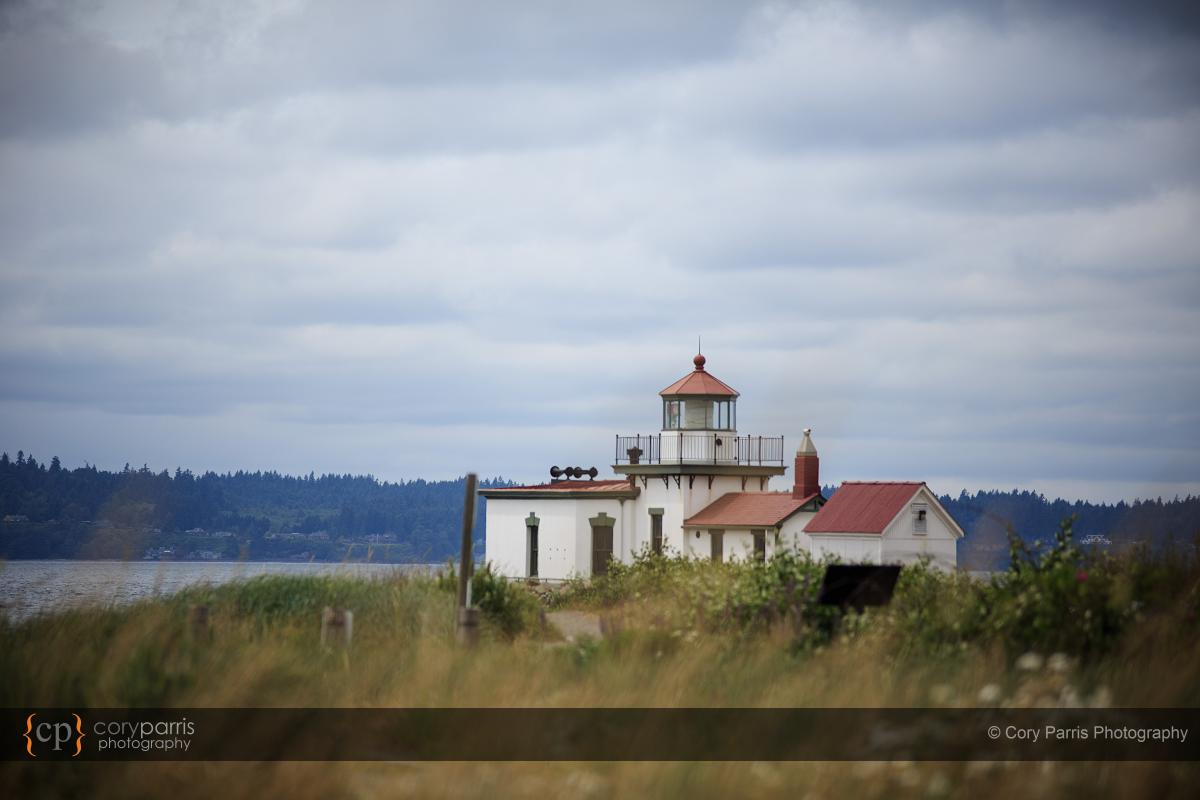 Discovery Park light house