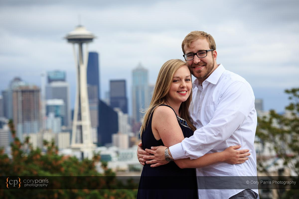 Kerry Park engagement portrait