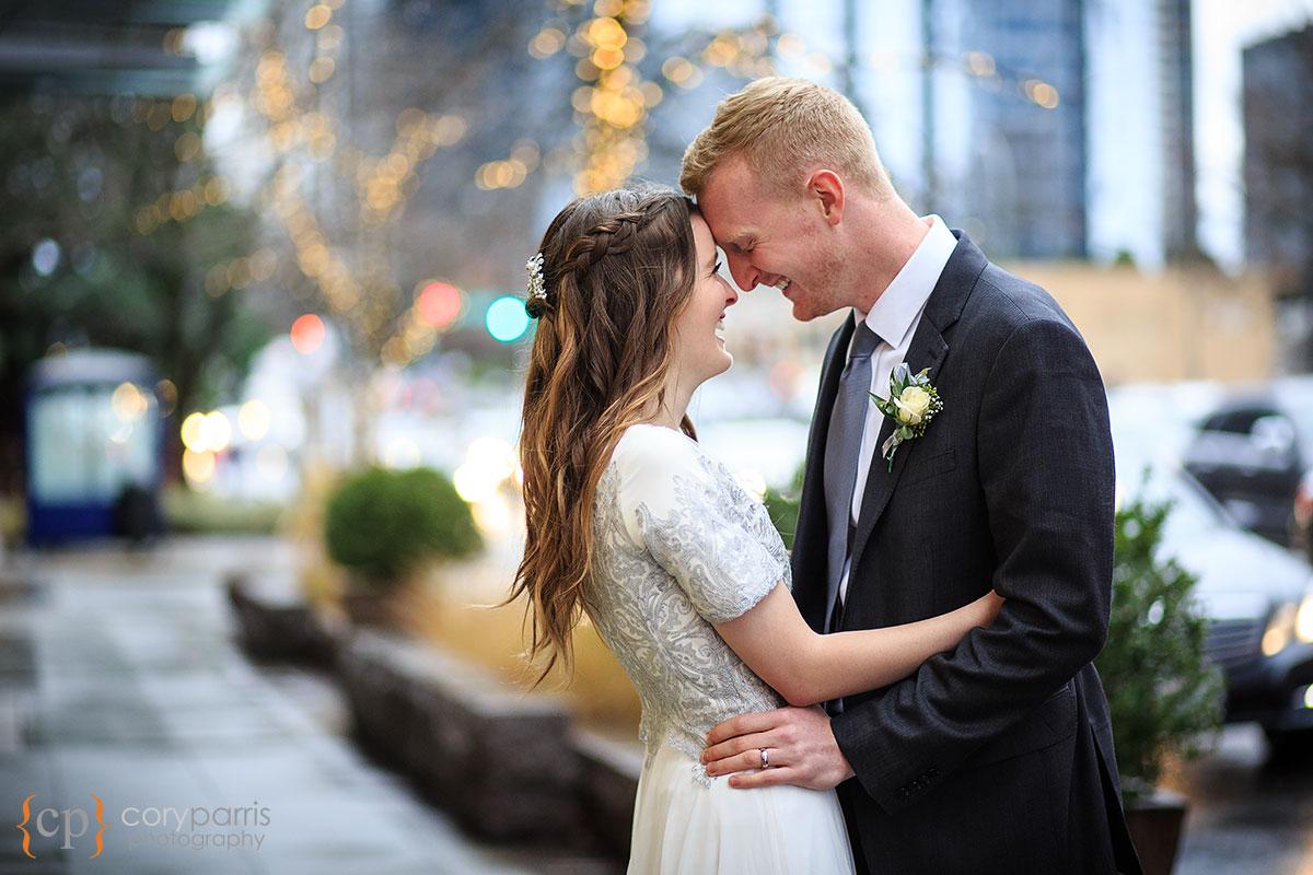 Bellevue Wedding Portrait
