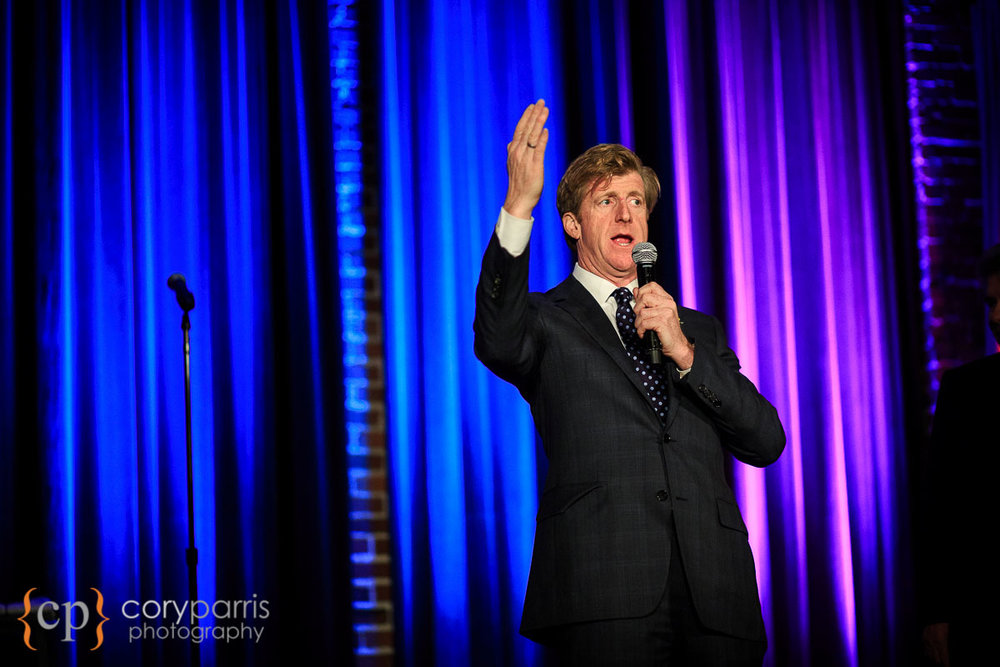 Patrick Kennedy speaking in Seattle