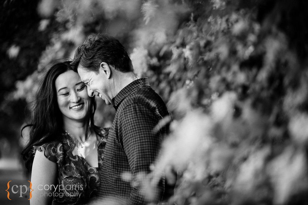Lincoln Park engagement portraits