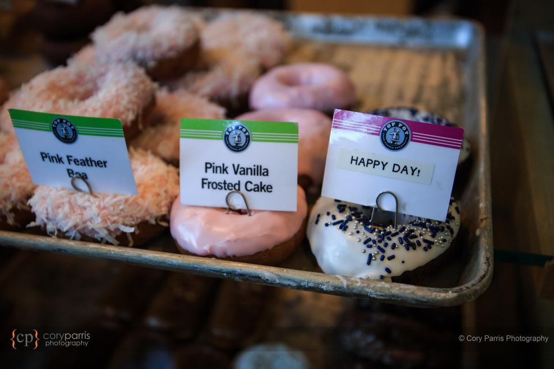 Wedding donuts