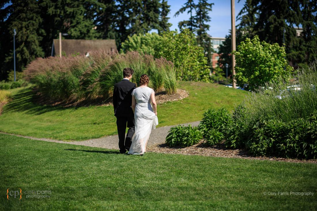 Wedding ceremony in Redmond
