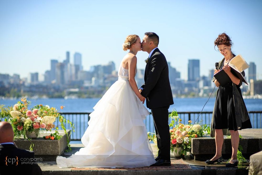 Gas Works Park Wedding