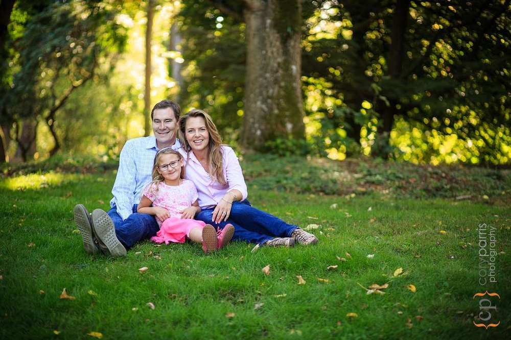 Washington Park Arboretum Family portraits