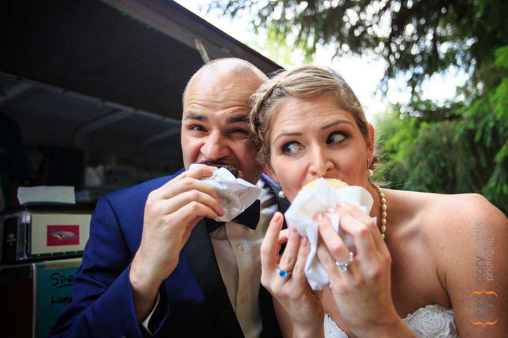 custom ice cream wedding