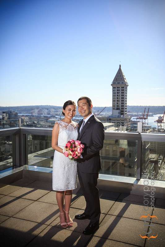 Seattle Courthouse Wedding