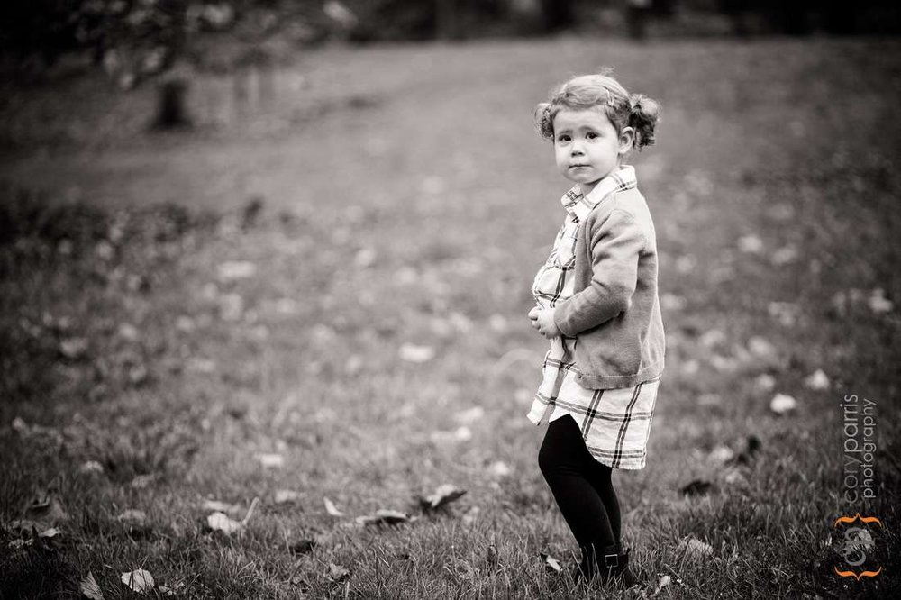 child portraits at Washington Park Arboretum