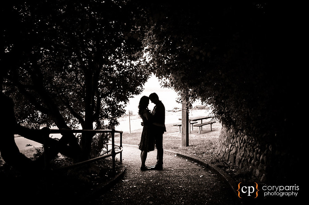 Lincoln Park Engagement Portrait