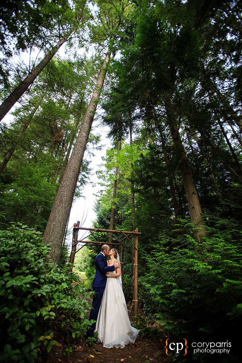 Dragonfly Resort bothell wedding photography