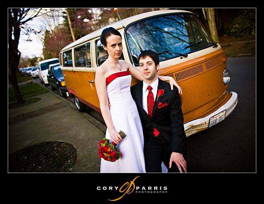 Hippie Bus wedding